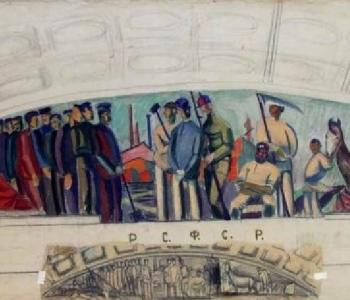 Выставка «Томск. Искусство великих потрясений: к 100-летию русской революции 1917 года»