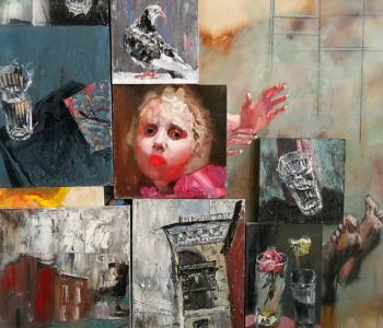 Выставка «Шаг» новосибирской художницы Евгении Шадриной-Шестаковой